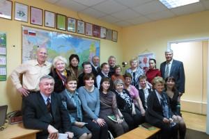 Участники расширенного Лидерского семинара в первый день Апрельской Конференции