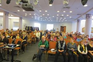 Участники расширенного Лидерского семинара в Большом зале г-цы Октябрьская, г. Санкт-Петербург