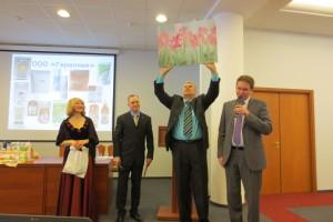 Генеральный директор компании Гармония  Малякшин А.В. поздравляет Клуб МИРСПА с 10-ти летним юбилеем