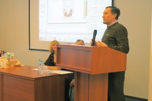 Генеральный директор компании Пекталь  Расстригин А.В. поздравляет Клуб МИРСПА с 10-ти летним юбилеем
