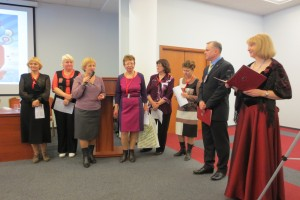 Поздравление Клуба с Юбилеем от Менеджеров Санкт-Петербурга
