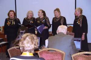 Вокальный ансамбль Сударушка,  г. СПб., исполняет народные и популярные песни