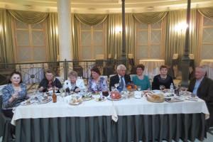 Отмечаем 10-ти летний Юбилей Клуба в ресторане Невский, г. СПб.