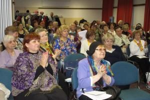 Участники Апрельской Конференции на презентации