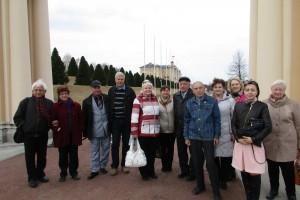 В парке Константиновского дворца