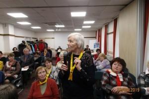 Наш ветеран Ефимова В.Г. делится своими результатами