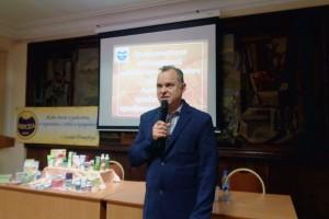 Самоделкин С.В. рассказывает о своих результатах по применению и продвижению продукции