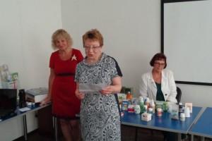 Гости из г. Санкт-Петербурга поздравляют Саратовцев с Конференцией