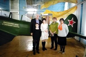 На этом самолёте учился летать Юрий Гагарин
