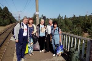 Участники летней рыбалки 2018 на станции Малукса
