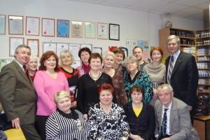 Встреча Лидеров компании с разработчиками, г. СПб, 2009 год