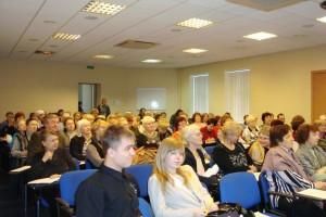 На Ноябрьской Конференции в СПб, 2009 год