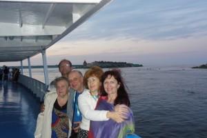 Второй Лидерский Семинар, экскурсия участников Семинара на теплоходе на Валаам, 2011 год