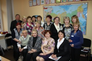 Лидеры компании и разработчики на Апрельской Конференции в СПб, 2012 год