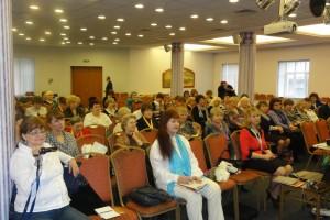 На Апрельской Конференции в СПб, 2012 года