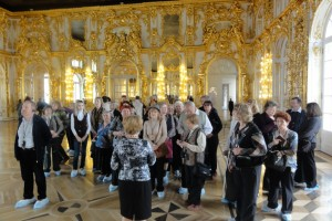 Экскурсия в Екатерининский Дворец, 2012 год