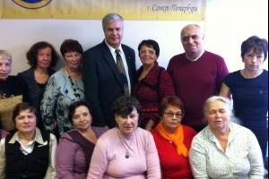Участники Семинара Успеха, г. Саратов, 2012 год