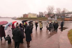 В Усть-Ижоре, где Александр Невский разбил шведских рыцарей