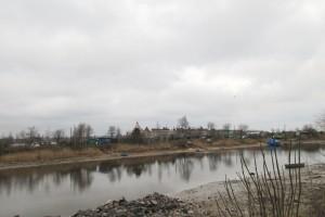 Вид на крепость Орешек в истоке Невы