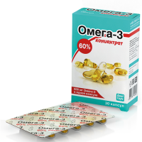 Омега-3, концентрат 60%