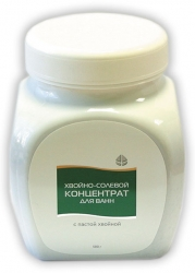 Хвойно-солевой концентрат для ванн